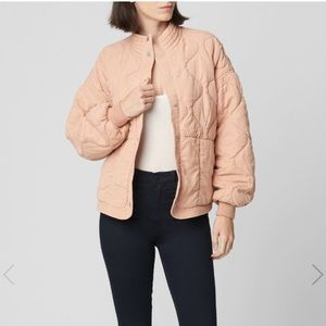 NWT Blank NYC Dolman Quilted Jacket